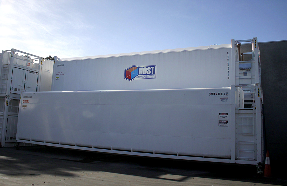 HOST Aviation Self Bunded Storage Tanks