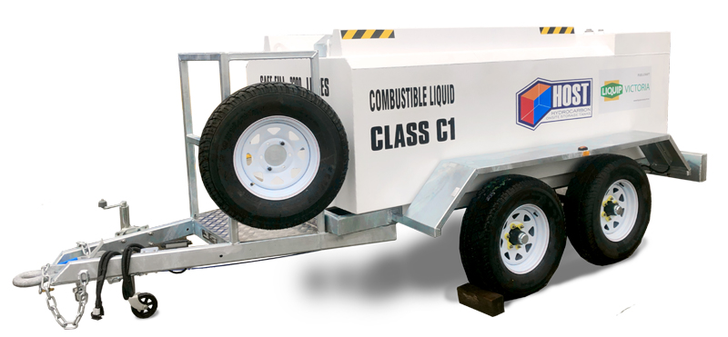 diesel towable refuelling Trailer self funded