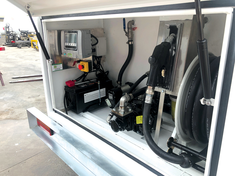 HOST Refueling SBT Trailer - 2,200L Customised Pump Bay with Liquip DNV