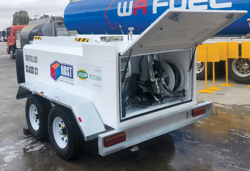 HOST Refueling SBT Trailer - 2,200L Customised Pump Bay with Auto Nozzle