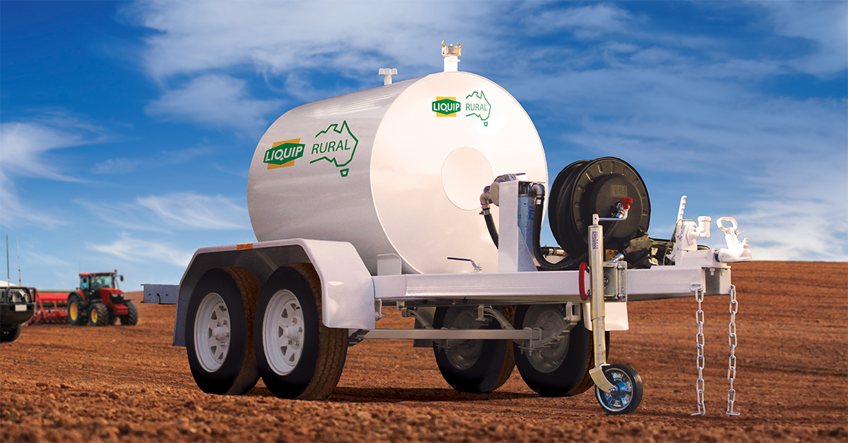 Australian designed and made refuelling trailer