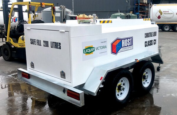 HOST Self Bunded Tank Diesel Refueling Trailers